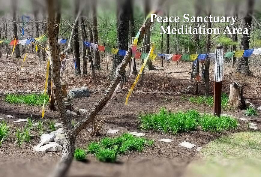 peace sanctuary meditation area